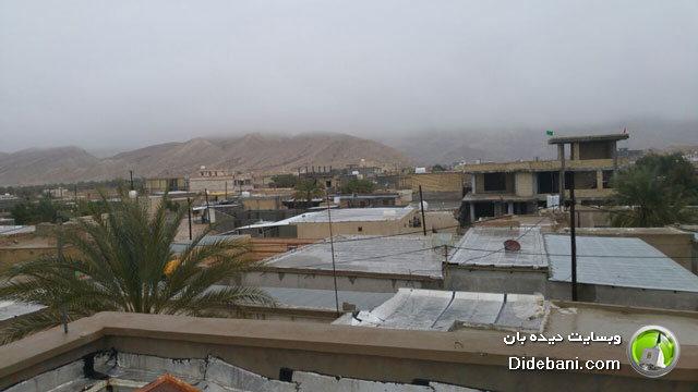 عکس های زیبا از دیده بان پسعکس های زیبا از دیده بان پس از باران / بهمن سال 1395