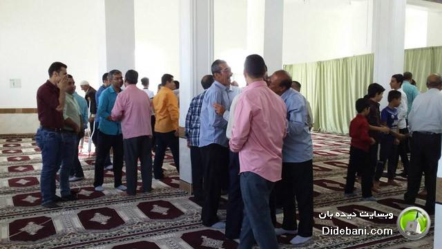 اقامه نماز عید سعید فطر در دیده بان