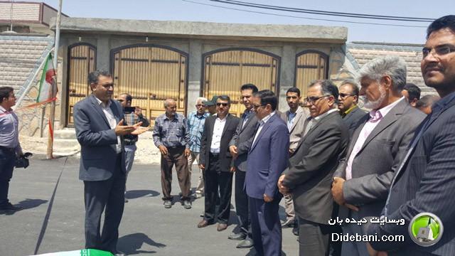 افتتاح رسمی پروژه خیابان های شهید شکور و شهید صیاد شیرازی