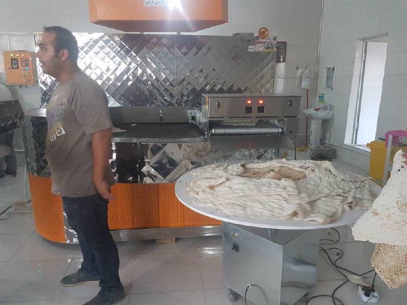 اولین نانوایی ماشینی در دیده بان با مدیریت عبدالرضا سلحشور