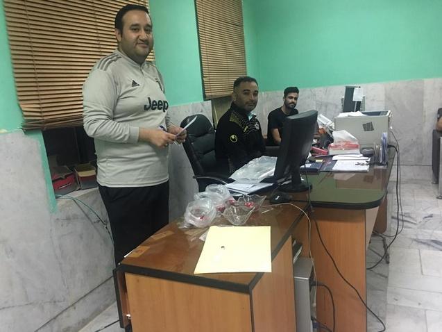 مراسم قرعه کشی نهمین دوره مسابقات فوتسال جام زنده یادان عادل و فردین