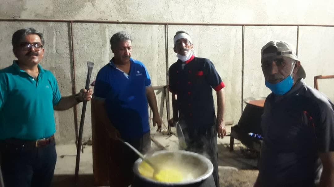 آشپزی شب 21 رمضان 1399 در دیده بان همراه با تصاویر