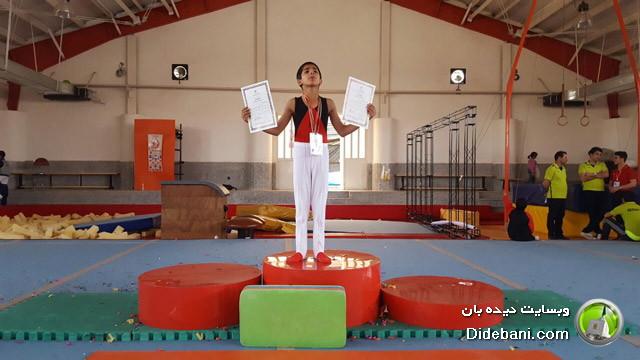کسب مقام قهرمانی در مسابقات ژیمناستیک استان فارس برای مرصاد پورمهدی