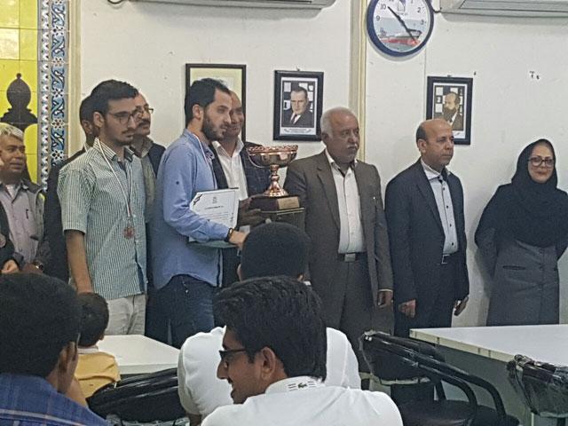 کسب مقام سومی برای شهدای دیده بان در مسابقات شطرنج لیگ بندرعباس