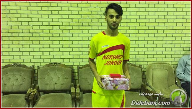 بهترین بازیکن: حسین رحیمی