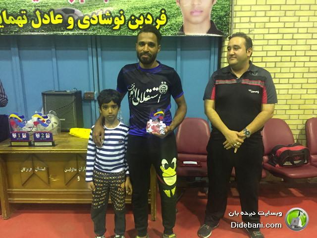 عمران حمیدی: آقای گل