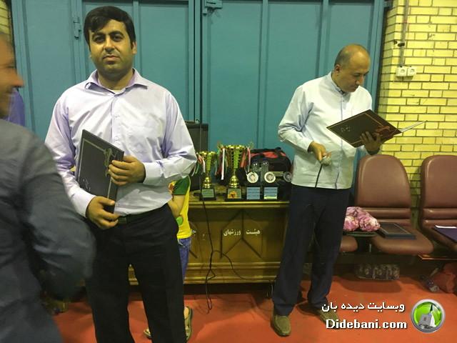 تقدیر و تشکر از علی اصغر پالاهنگ