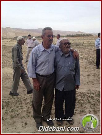 سمت راست: مرحوم سهراب احمدی