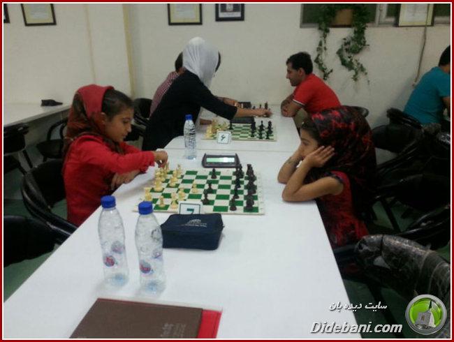 سومین دوره مسابقات شطرنج یادواره شهدای دیده بان