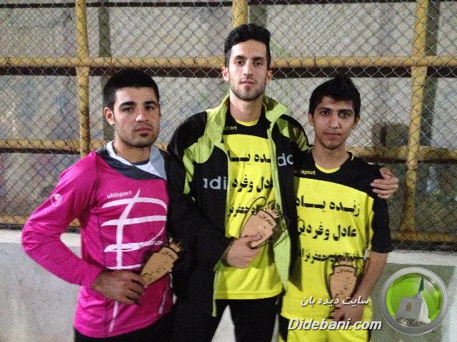 کامران محمدی - وحید انصاری - محمد بلارک