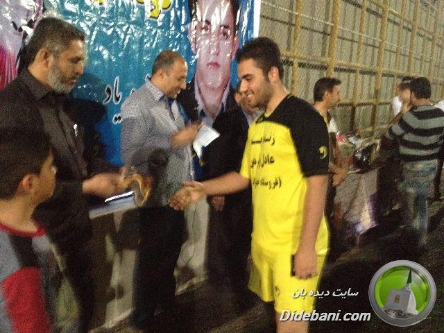 محمد رزمجو بهترین بازیکن دیده بانی در نظرسنجی
