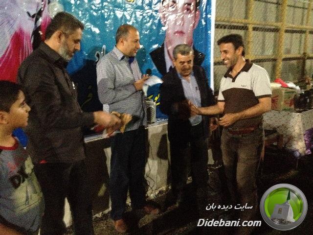 عباس نوشادی بهترین بازیکن پیشکسوت
