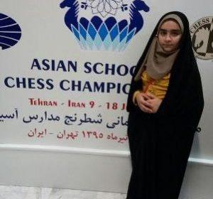 درخشش مطهره تالانه در افزایش ریتینگ بین المللی شطرنج