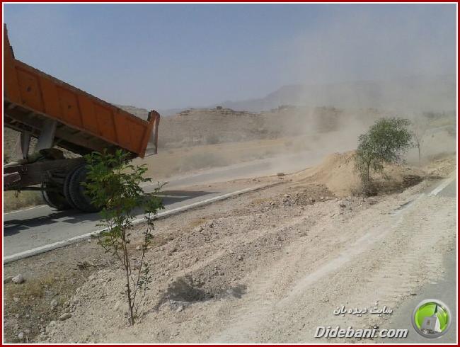 آغاز عملیات زیرسازی و آسفالت ضلع جنوبی بلوار شهید پالاهنگ