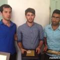 نفر اول : ناصر نریمانی از فداغ نفر دوم : علی اصغر شکور از دیده بان نفر سوم : حسین انصاری از دیده بان
